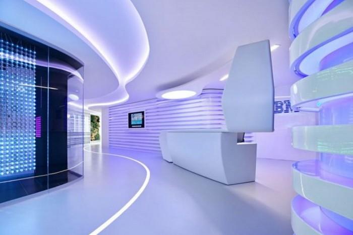 Дизайн офиса в стиле хай-тэк
