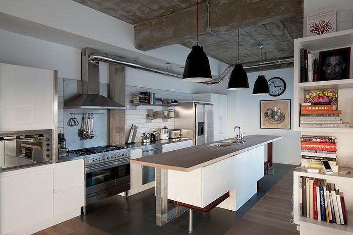 Эклектика  Эклектика в кухне