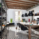 Эклектика для интерьера кухни