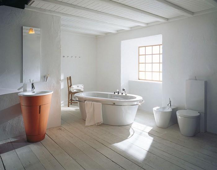 Эко стиль  Эко стиль в ванной комнате