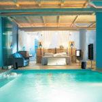8 удивительных интерьеров спален: стекло, лёд, вода….