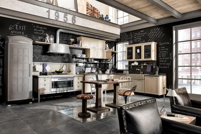 Кухни под винтаж_13