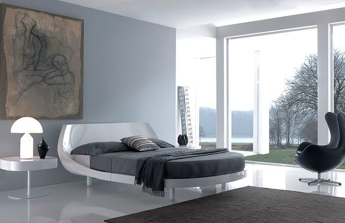 Интерьер спальни: сочетание стиля и цвета