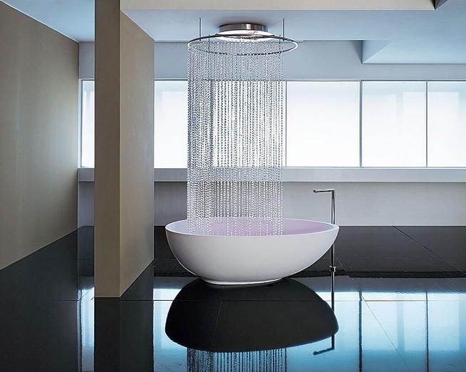 Ничего лишнего - минимализм в ванной _08