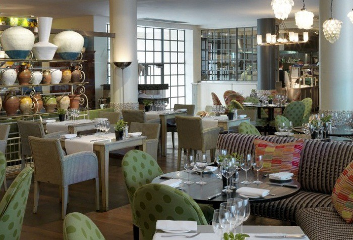 Потрясающий дизайн в отеле Лондона