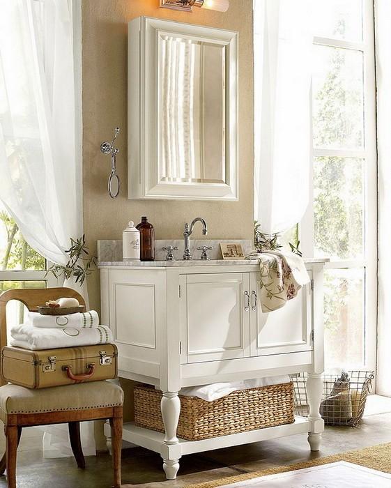 Как красиво хранить вещи в ванной