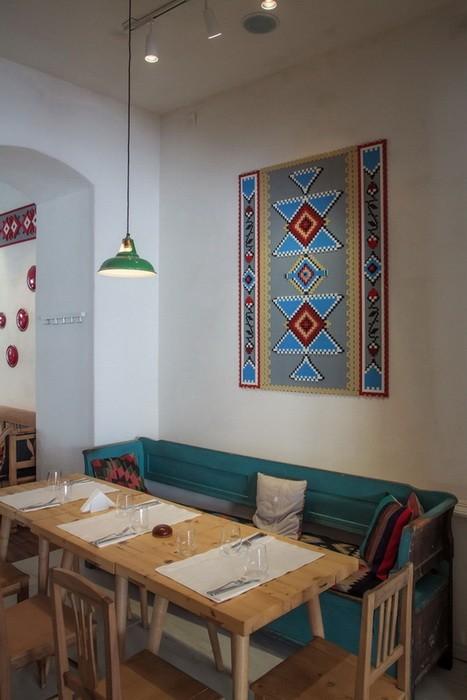 Традиционный ресторан в Румынии