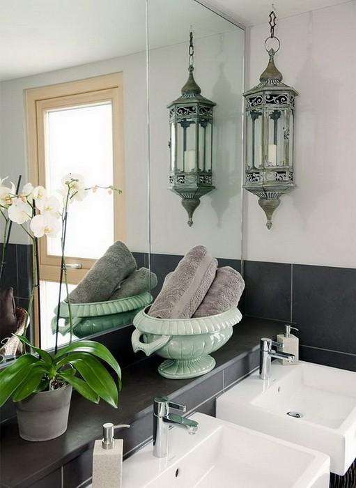Серый Бежевый  Интерьер дома в серо бежевой гамме