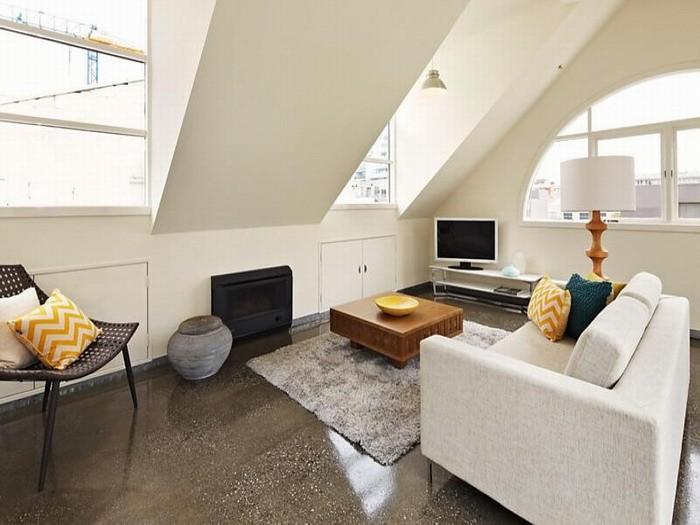 5 идей для маленькой квартиры-мансарды