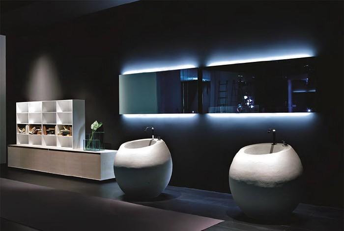 Минимализм  Совершенный интерьер ванных комнат