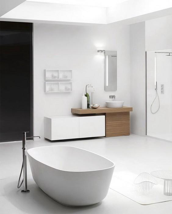 Совершенный интерьер ванных комнат_09
