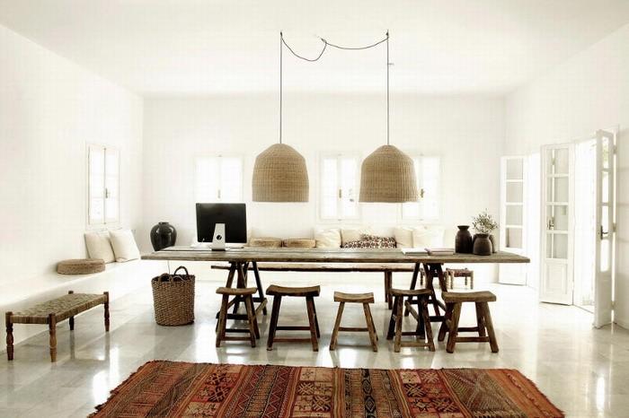 Дизайн длинной кухни