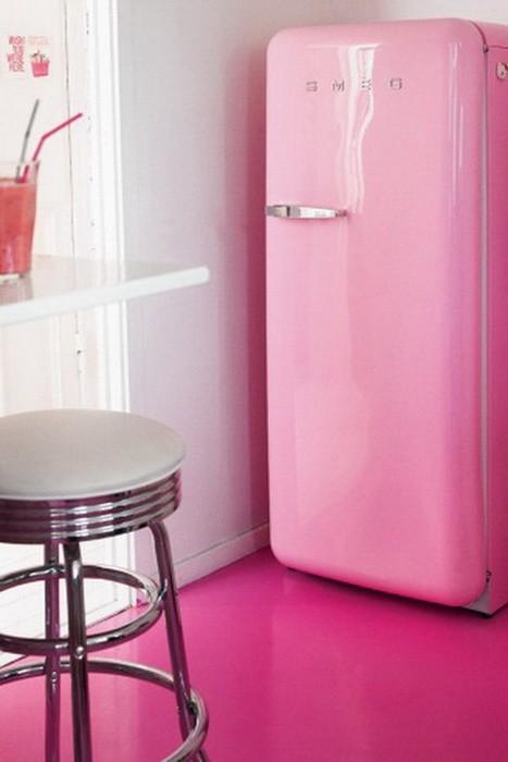 Розовый  Датская квартира Розовый сад