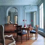 Гостиная в голубых цветах