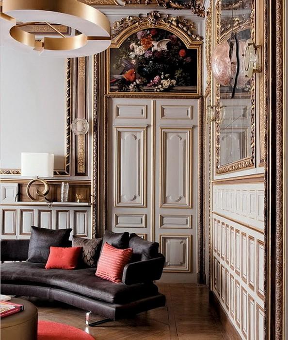 Французский стиль  Интерьеры французских квартир