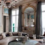 Интерьеры французских квартир