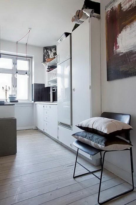 Серый Бежевый  Квартира в серо бежевой гамме