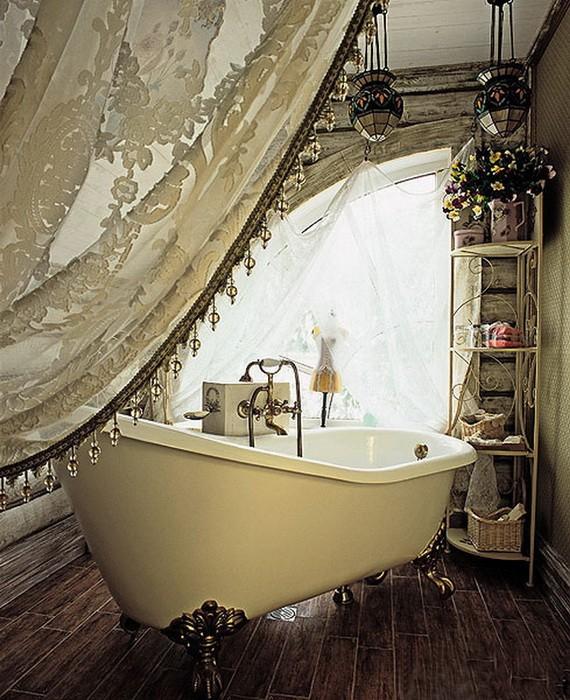 Ванные комнаты в ретро стиле
