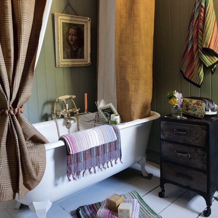 Ретро  Ванные комнаты в ретро стиле
