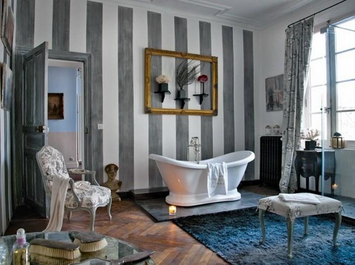 Ванные комнаты в ретро стиле_13