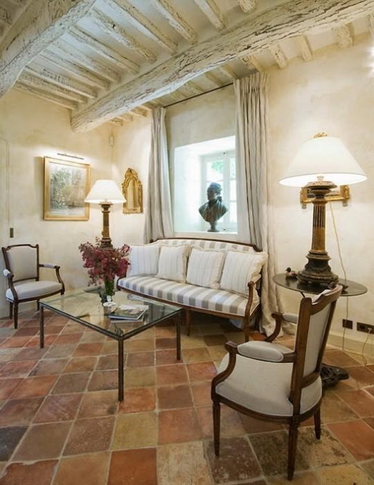 Стиль, интерьер, дизайн дома в Провансе