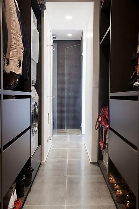 Скандинавский стиль Белый  Квартира в Стокгольме