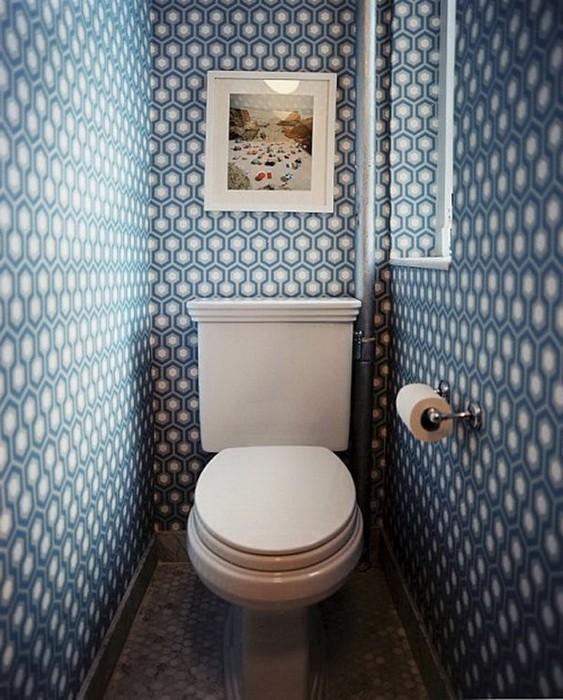 Маленькая  Маленькие туалетные комнаты