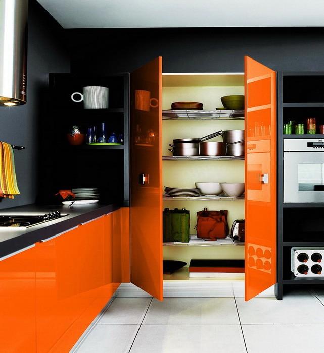 Оранжевый цвет в интерьере_11