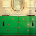 12 примеров зелёного цвета в интерьере