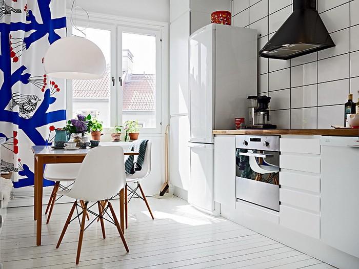 Скандинавский стиль  Дизайн интерьера квартиры в скандинавском стиле