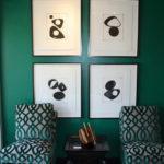 Зелёный цвет в интерьере: его сочетания, дизайн-проекты, идеи, фото
