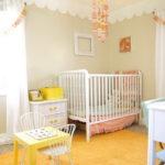 Интерьер детской комнаты для девочки в желтом