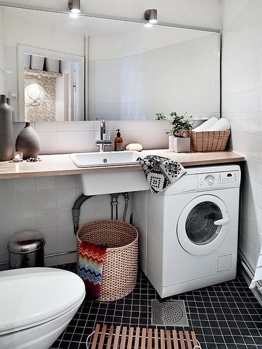 Скандинавский стиль Белый  Интерьер квартиры шведском стиле