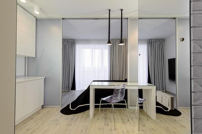 Маленькая  Интерьер маленькой квартиры