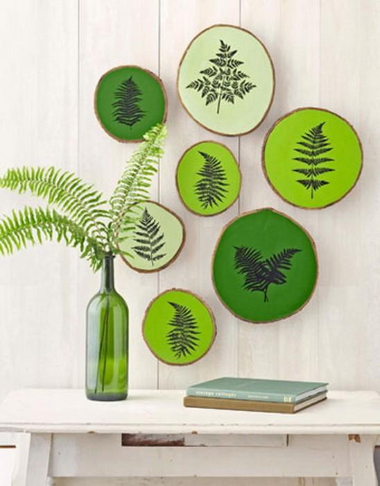 Зеленый  Зеленый цвет в интерьере