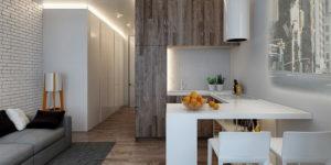 Интерьер однокомнатных квартир