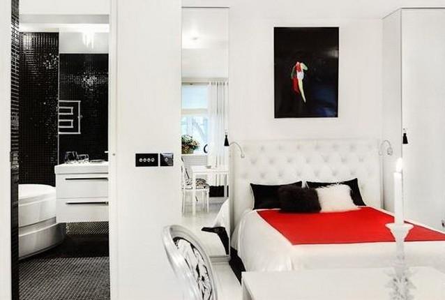Белый  Дизайн белой квартиры