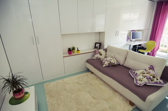 Маленькая  Интерьер однокомнатных квартир