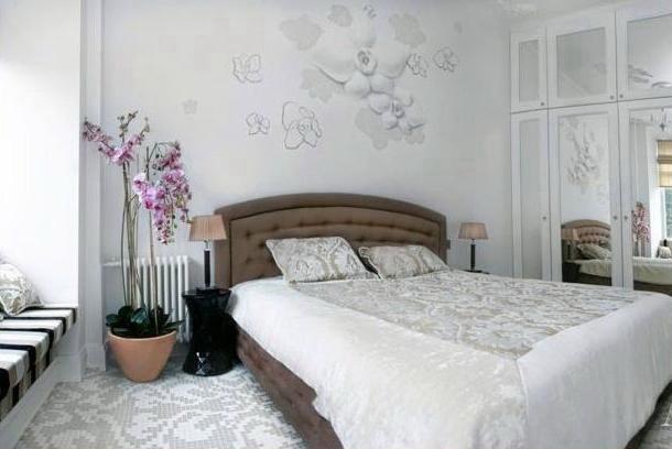 Белый  Квартира в белом цвете