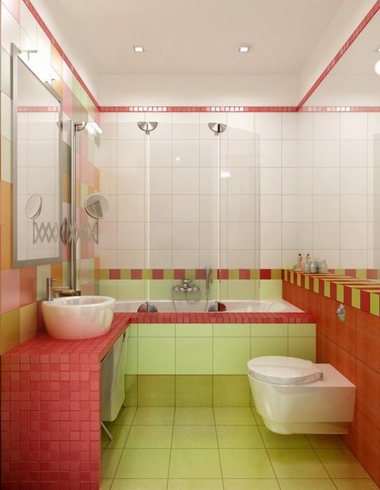 Дизайн небольших ванных комнат_02