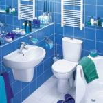 Дизайн небольших ванных комнат