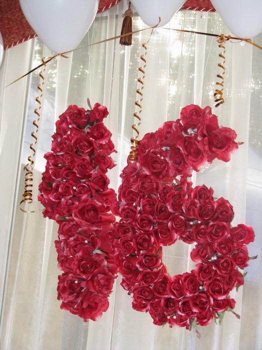 Украшение комнаты на день рождения 18 лет