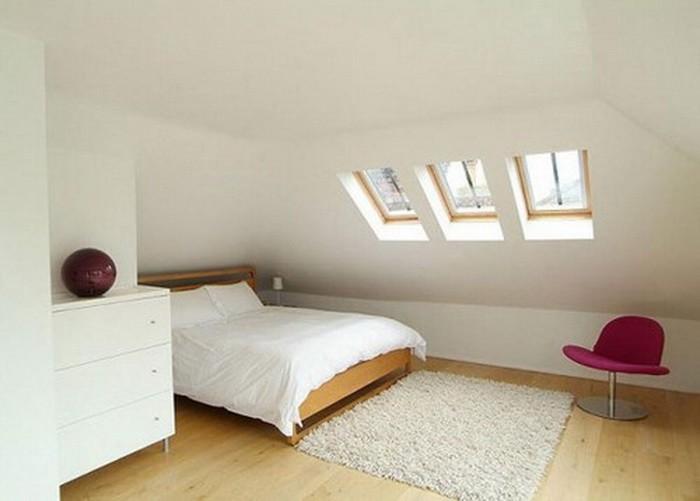 Дизайн спальни в мансарде_02