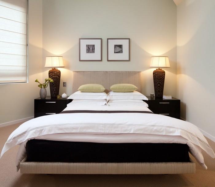 Маленькая  Интерьер маленькой спальни