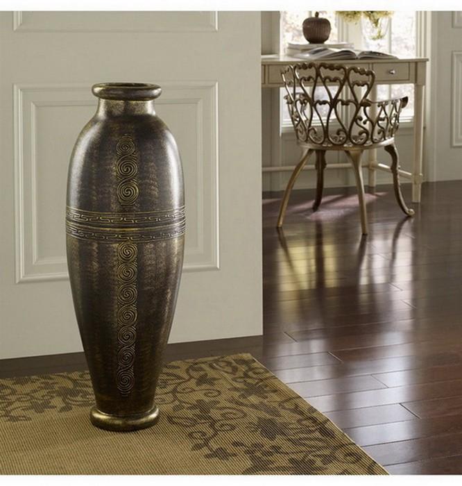 Напольные вазы в интерьере_07