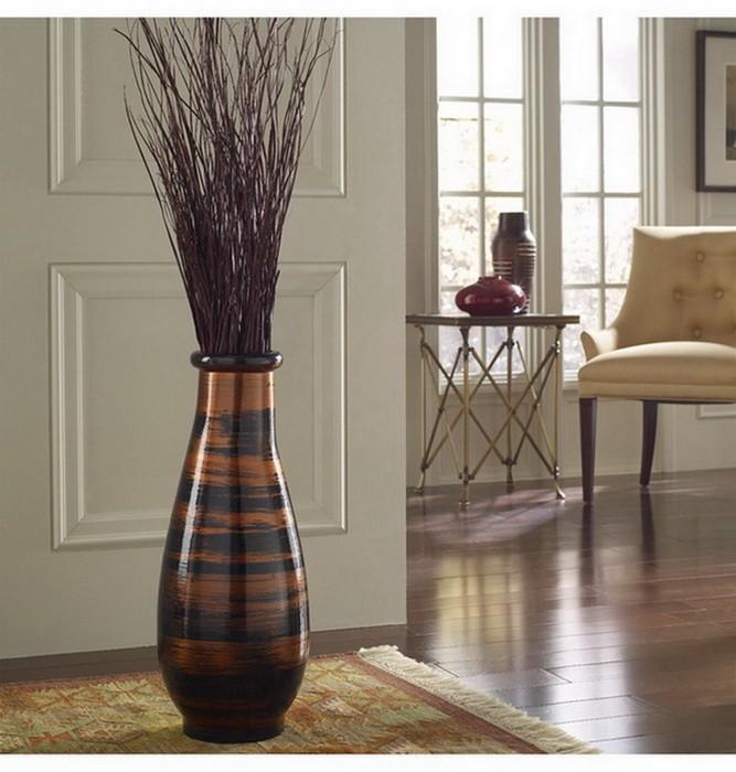 Напольные вазы в интерьере_09