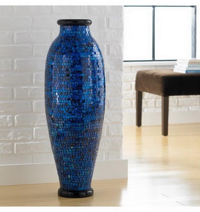 Напольные вазы в интерьере_10