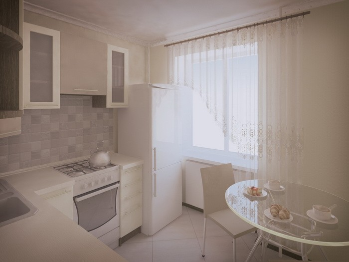 Дизайн кухни в хрущевке_12