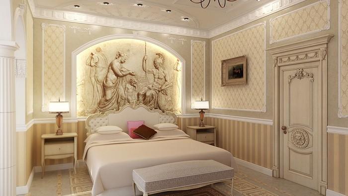Классический стиль  Дизайн спальни в классическом стиле