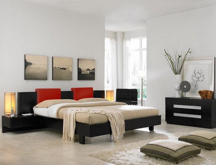 Восточный стиль  Спальня в восточном стиле